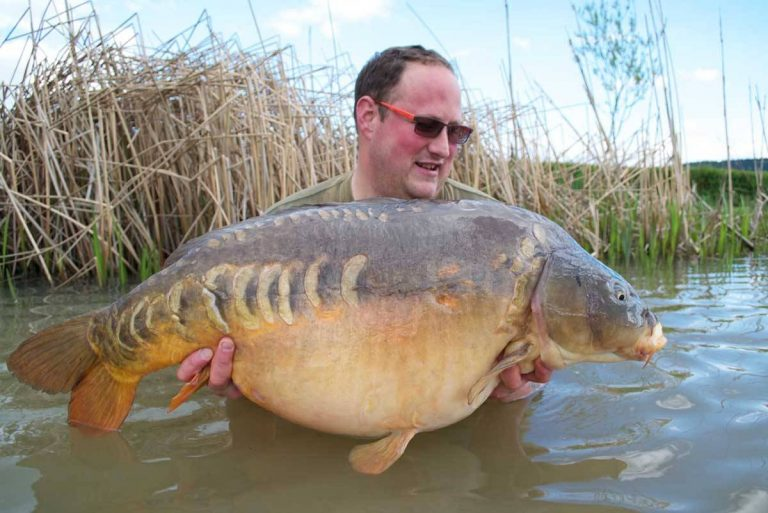 APRIL - Clive Elson 36 lb 8 oz Friar Tuck