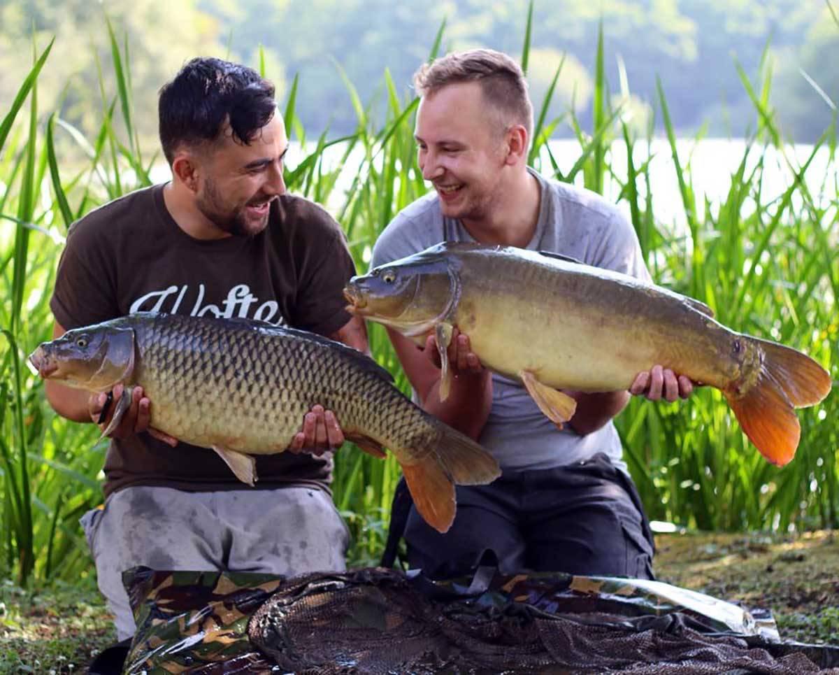 Gavin Campbell & Dan. Old Lake